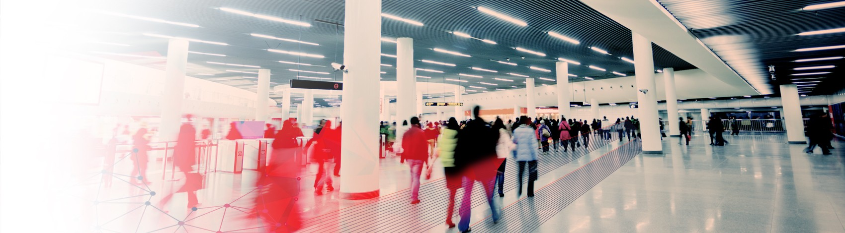 Person flow, crowd management simulation